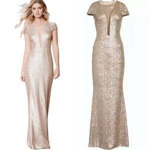 Dress The Population Sequined Mermaid Gown